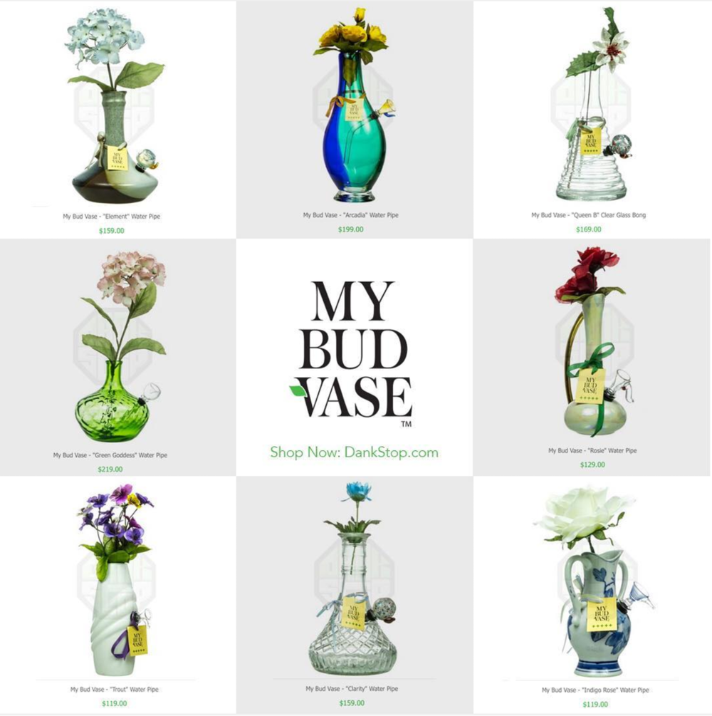 10 Very Unique Types of Pipes and Bongs - Recycled Vases from My Bud Vase