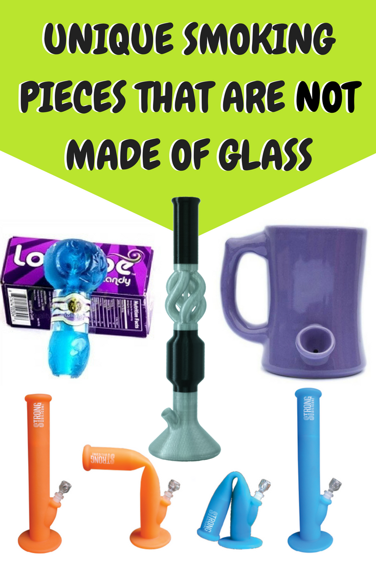 10 Very Unique Types of Pipes and Bongs that Are NOT Made of Glass