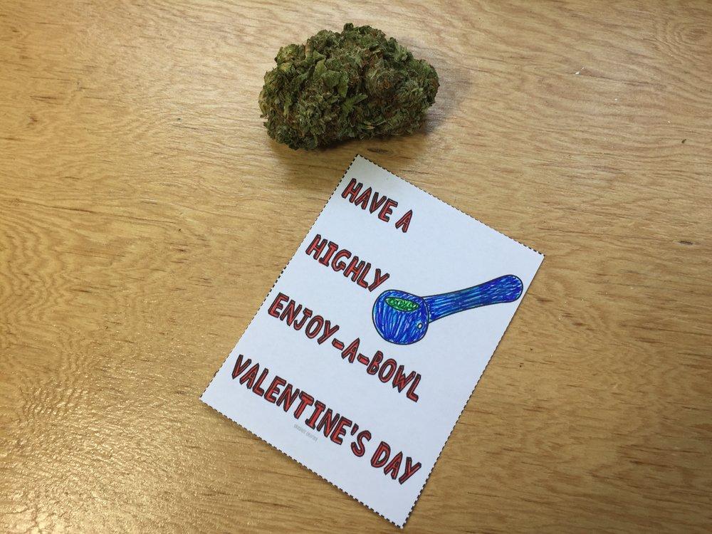 DIY Stoner Valentine's Day Cards