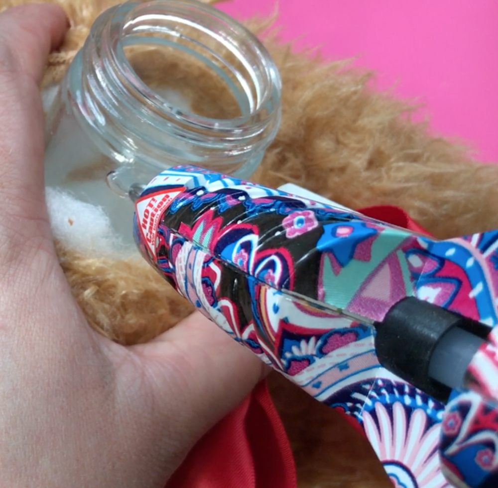 Secret Teddy Bear Stash Jar Stoner Crafts by Chronic Crafter