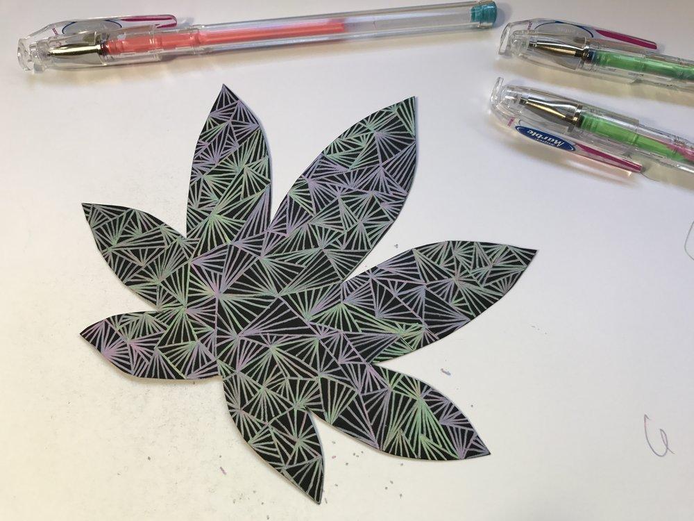 Here's my leaf