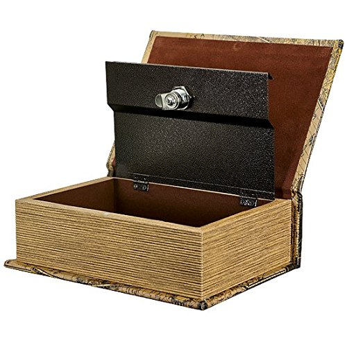 Locking Stash Box That Looks Like a Book from Hakuna Supply