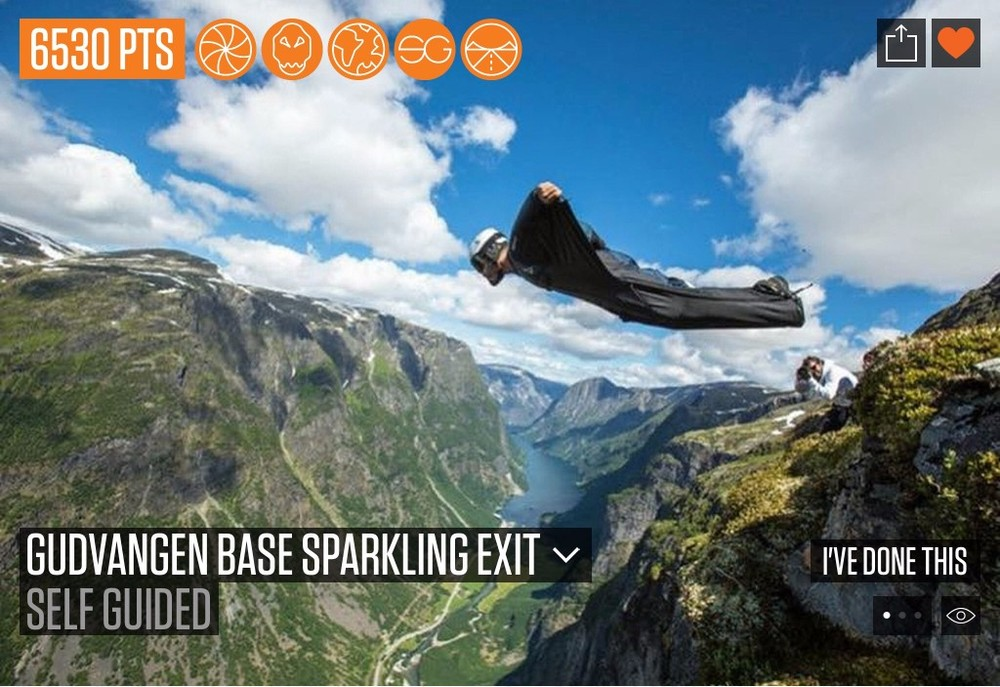 It's worth planning your adventure to Voss, in Norway, around Extreme Sports Week - an annual festival showcasing a wide range of mountain, river and air sports with loads of live music! Added by Josh Caple