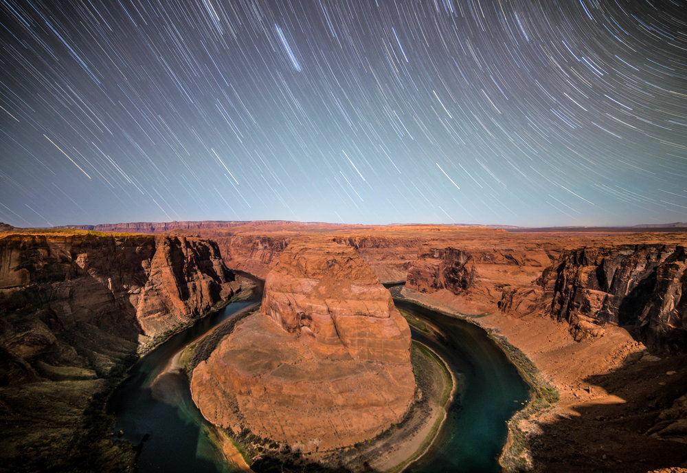 Horseshoe Bend, USA | @Word_on_Adventure