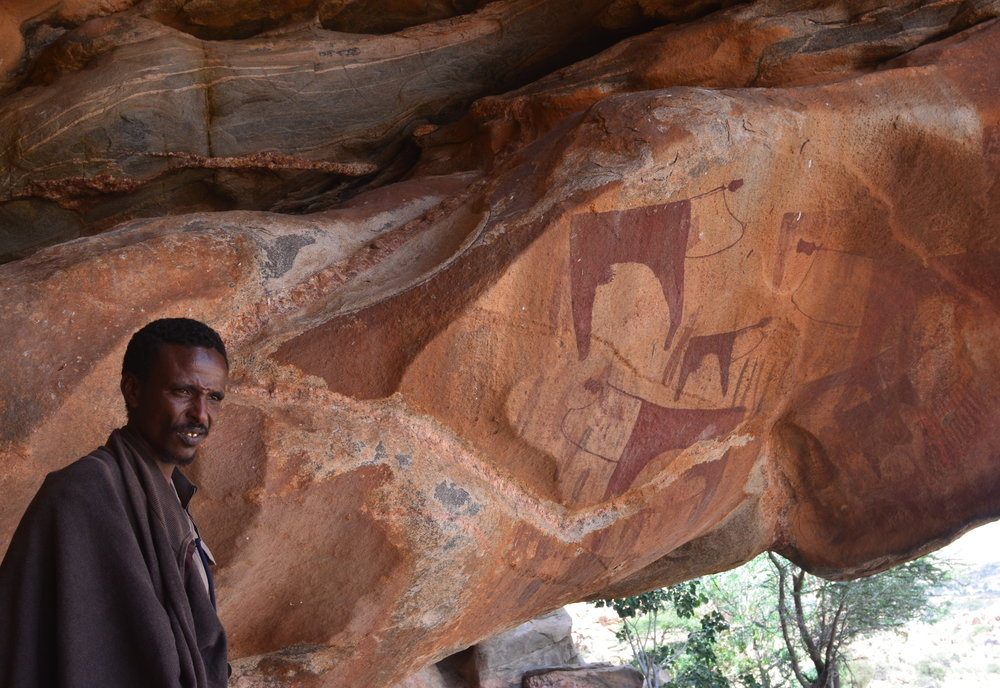 The paintings of Las Geel, Somaliland