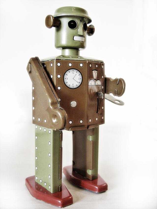 """""""Beep boop bee boo. I am a robot."""""""