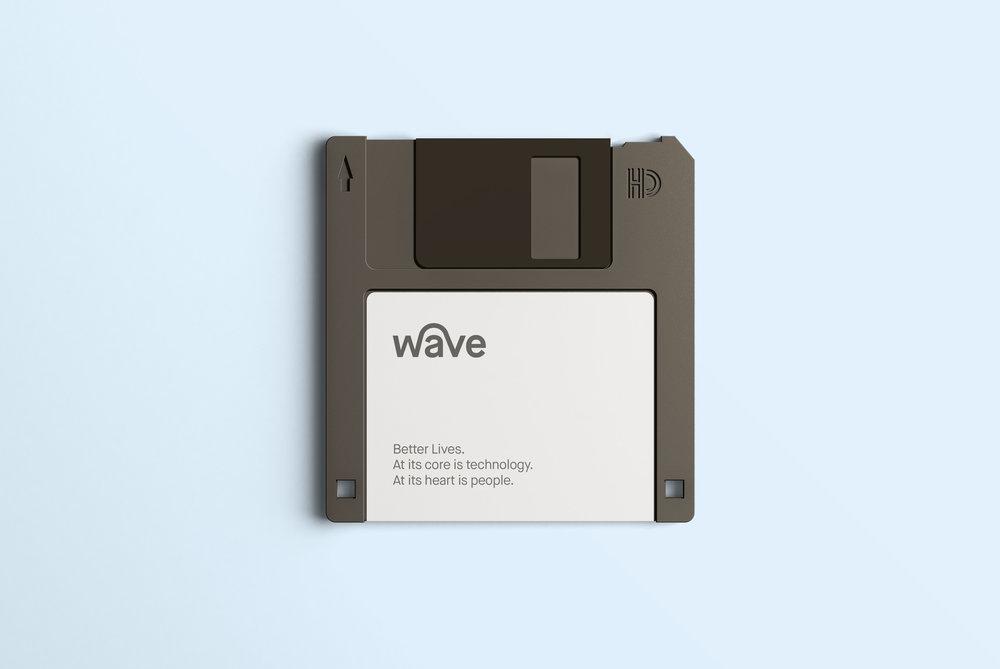 Wave Rebrand for  Wave Digital   Identity & Website Design