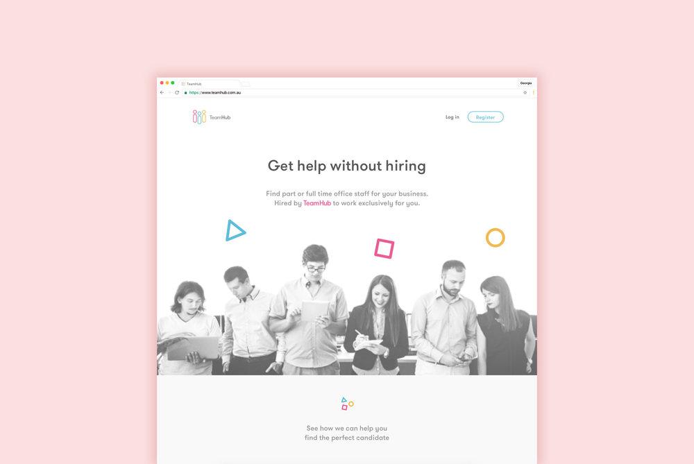 TeamHub  UI & UX