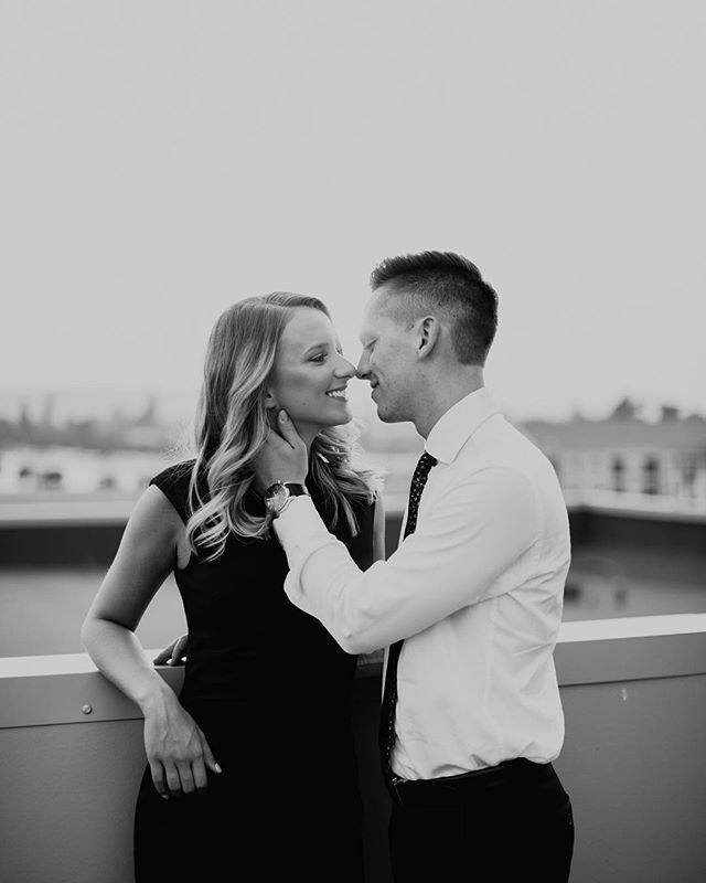 When you find the perfect roof top with the perfect couple. #inadreamphotography