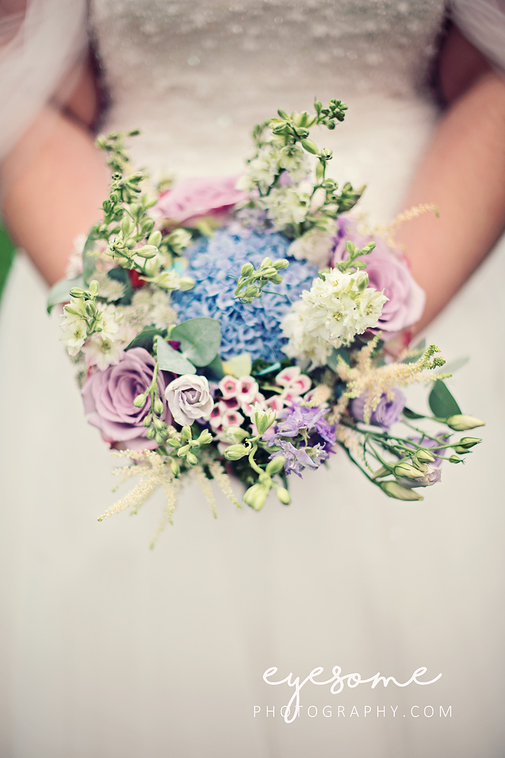 The flowers were a delightful palette of pastel blues and pinks, and really very pretty and delicate indeed.