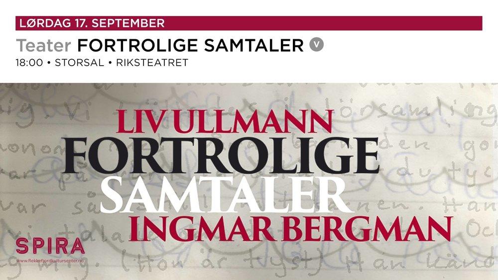 FORTROLIGE SAMTALER
