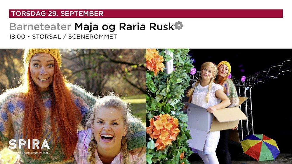 Maja og Rusken : Jakten på den forsvunnede tannbørsten