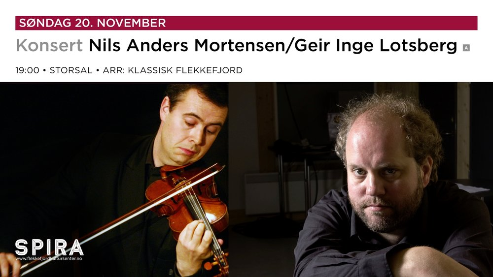 Nils Anders Mortensen og Geir Inge Lotsberg