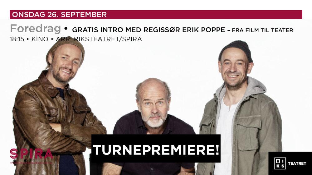 Bonusopplevelse: Intro med den kjente regissøren Erik Poppe
