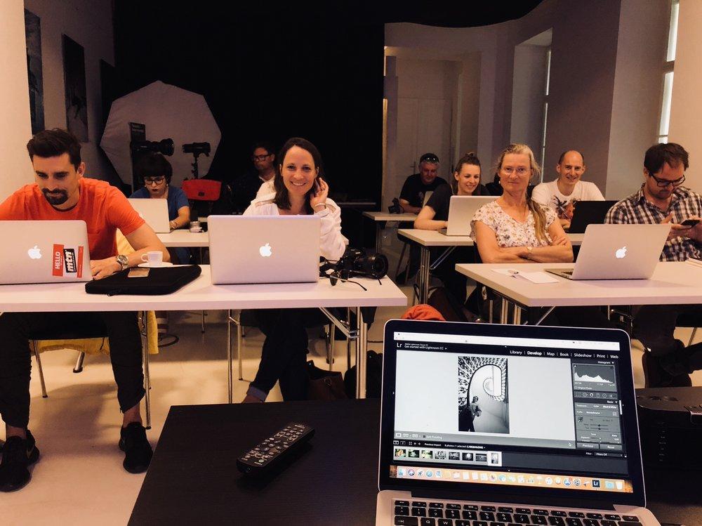 Editing Session - Vienna