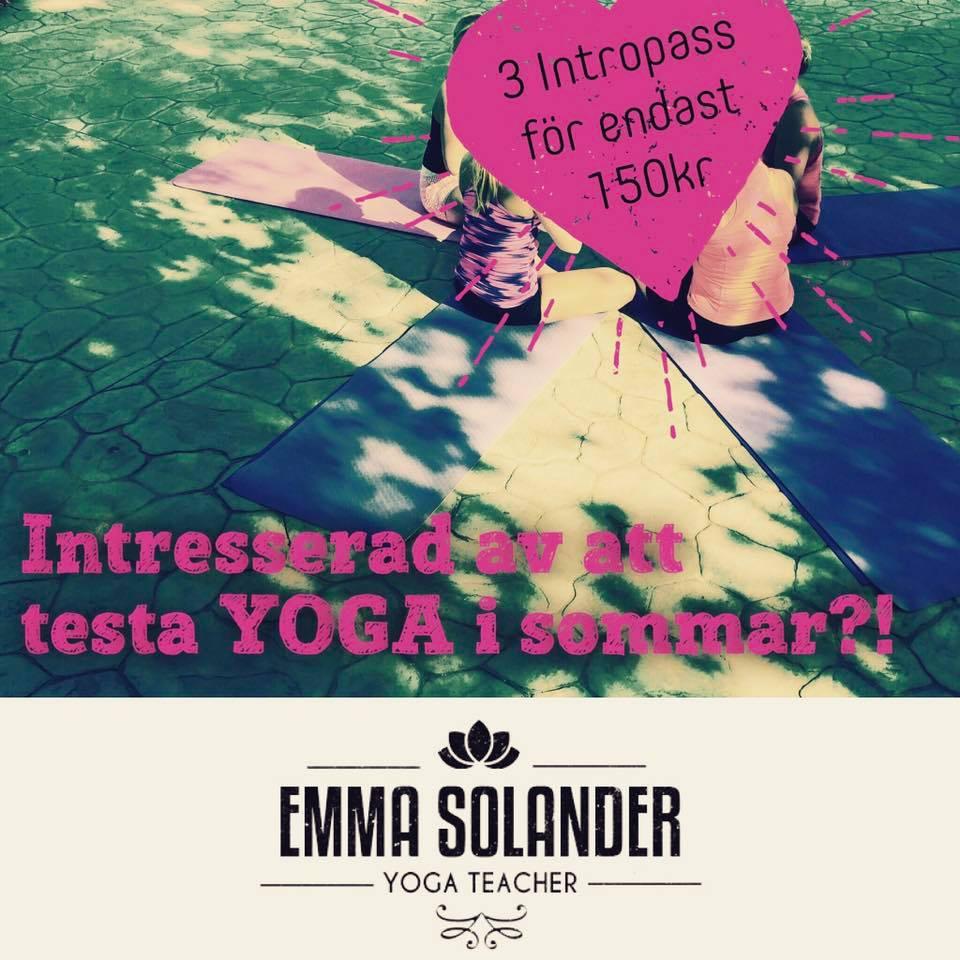 Yogan... - utövas i ett dynamiskt konstant