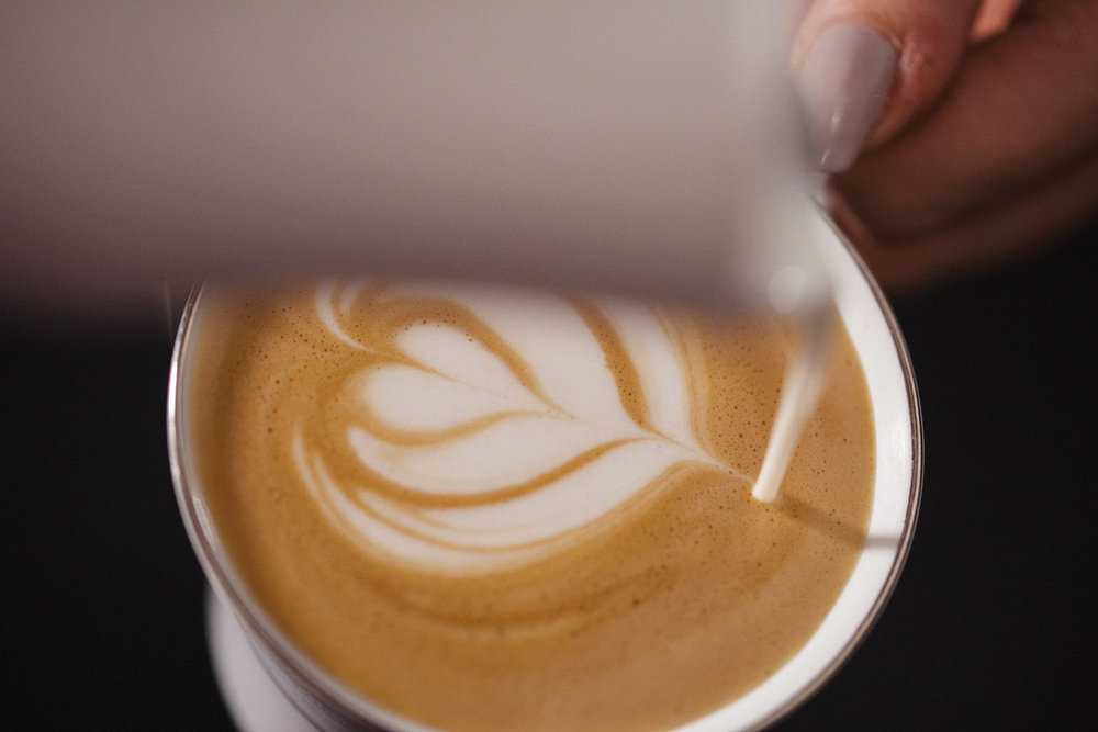 Our Latte Art beautifully compliments our hand crafted coffees & adds a little something special to your coffee.