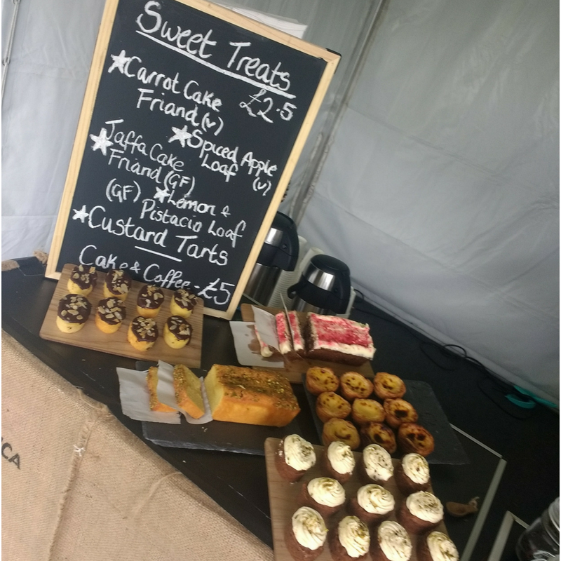 Our corporate coffee bar hire also has the option to include beautifully hand made cakes for your guests