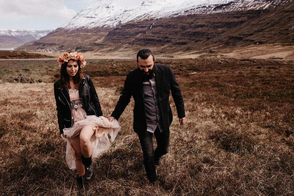 Mauro & Michele / Elopement in Iceland