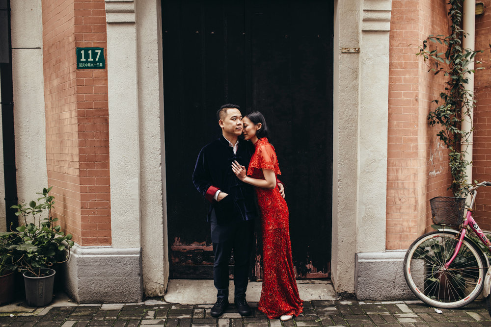 GIgi & Tommy · Shanghai destination wedding