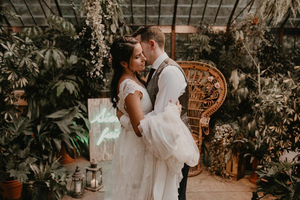 Sara & Pablo · Botanical wedding in Málaga