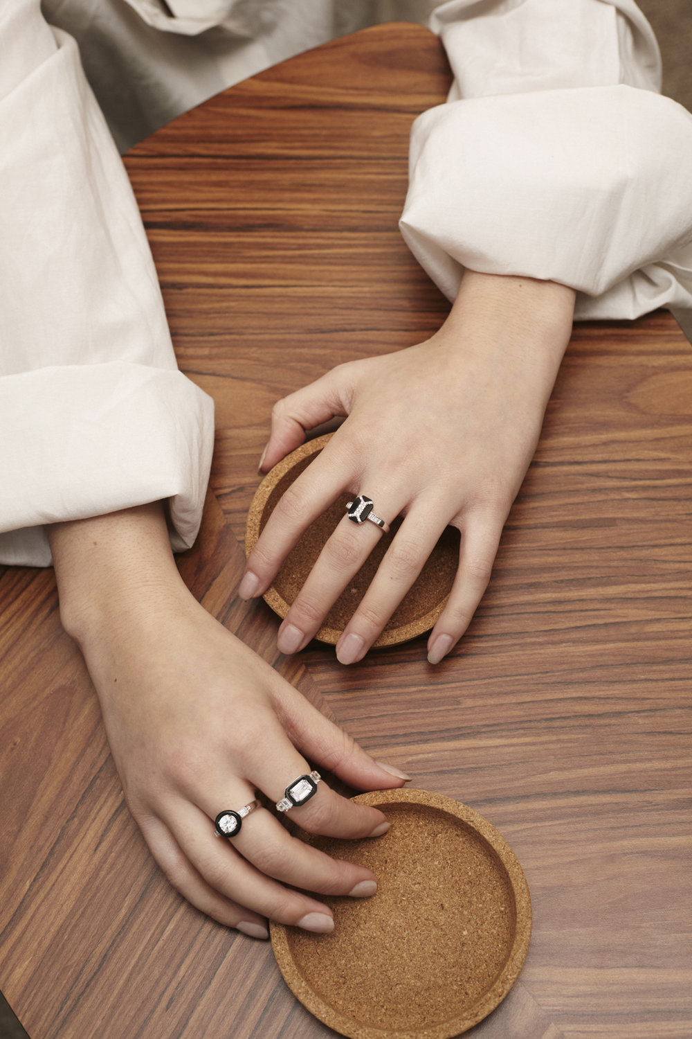 MARION RING // CARINE RING // VANESSA RING • V Jewellery