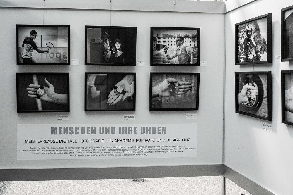 Fotos:Uwe Aschauer, Valentin Friesacher, Nicole Haas, Richard Haller, Nadine Mair, Stephan Natschlaeger, Daniel Weilguny sind die Absolventinnen der LIK Meisterklasse