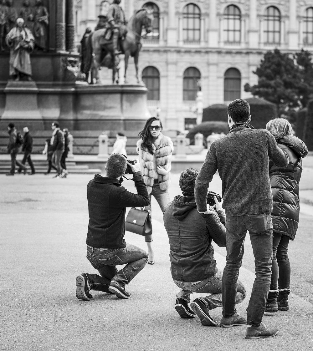 Alena Tsar unter der Leitung von Eric Berger für LIK Akademie für Foto und Design.