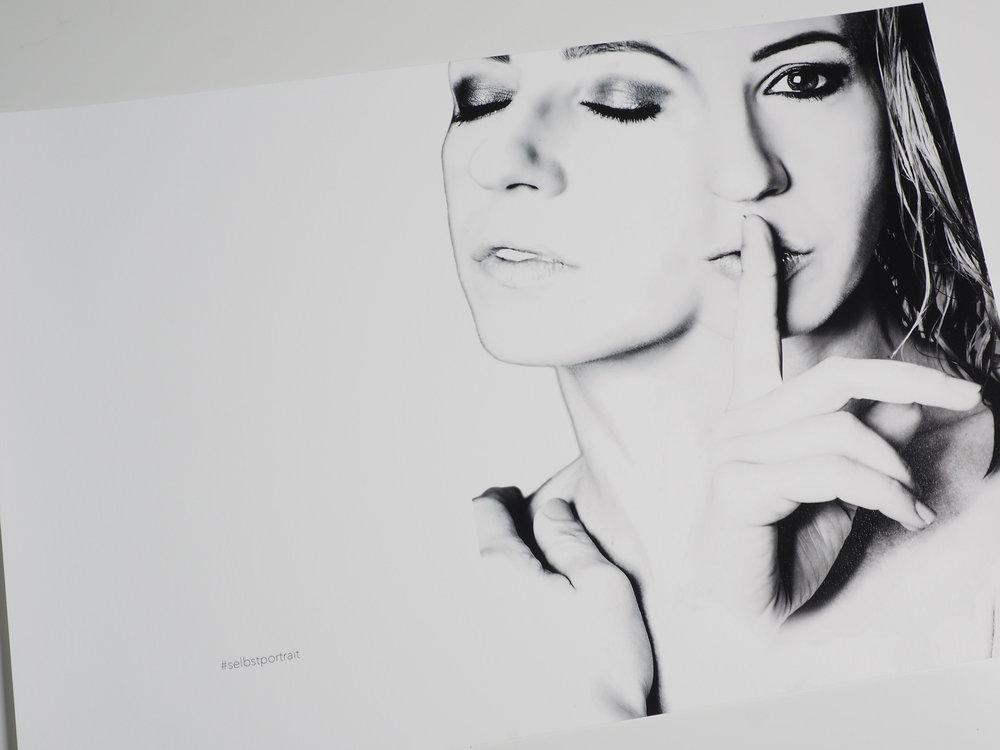 Melanie Baschnegger - Selbstportrait