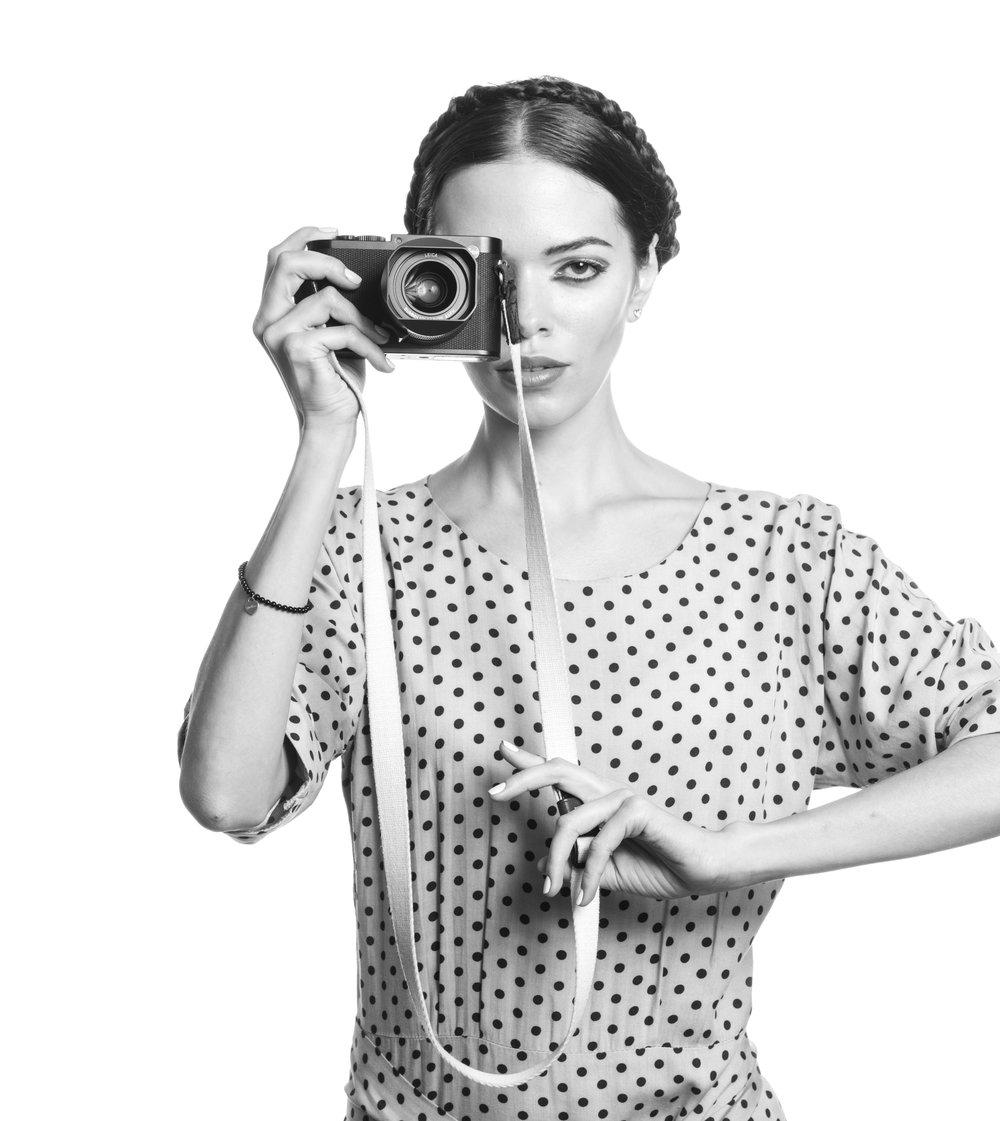LIK Lehrgang professionelle Portraitfotografie / Alena Tsar by Eric Berger