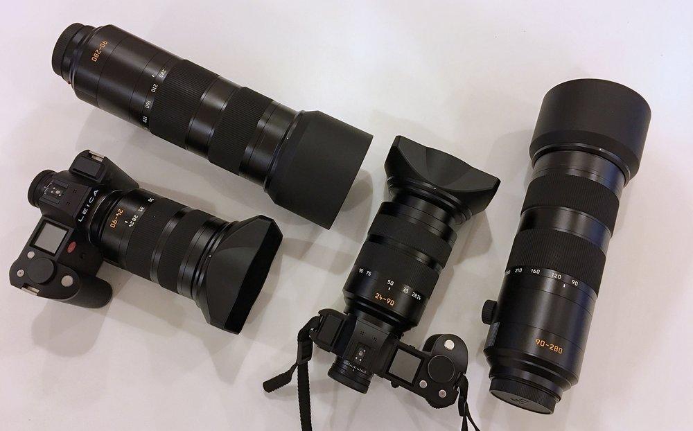 Leica SL Ausrüstung für LIK Studentinnen zum Testen im September