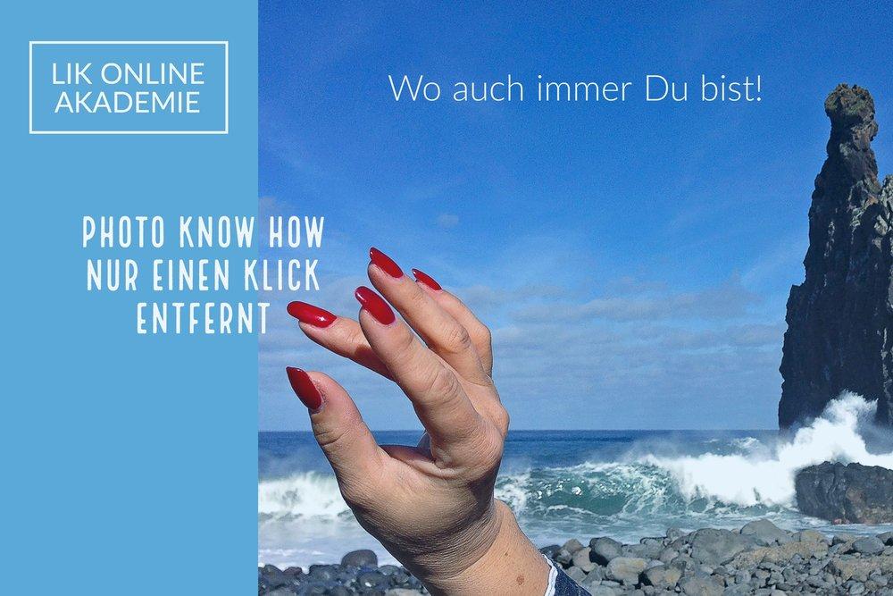 LIK Online - Webinare und Online Foto Lehrgang