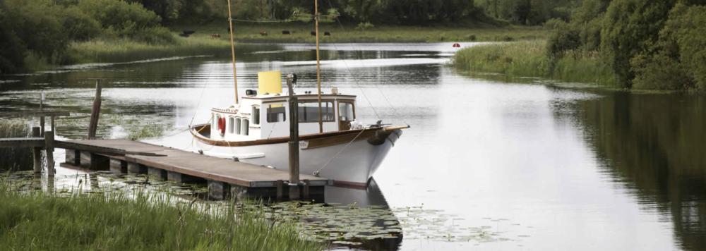 Ein Fotoworkshop findet auf und mit der schlosseigenen 50 ft Yacht Trasna statt.