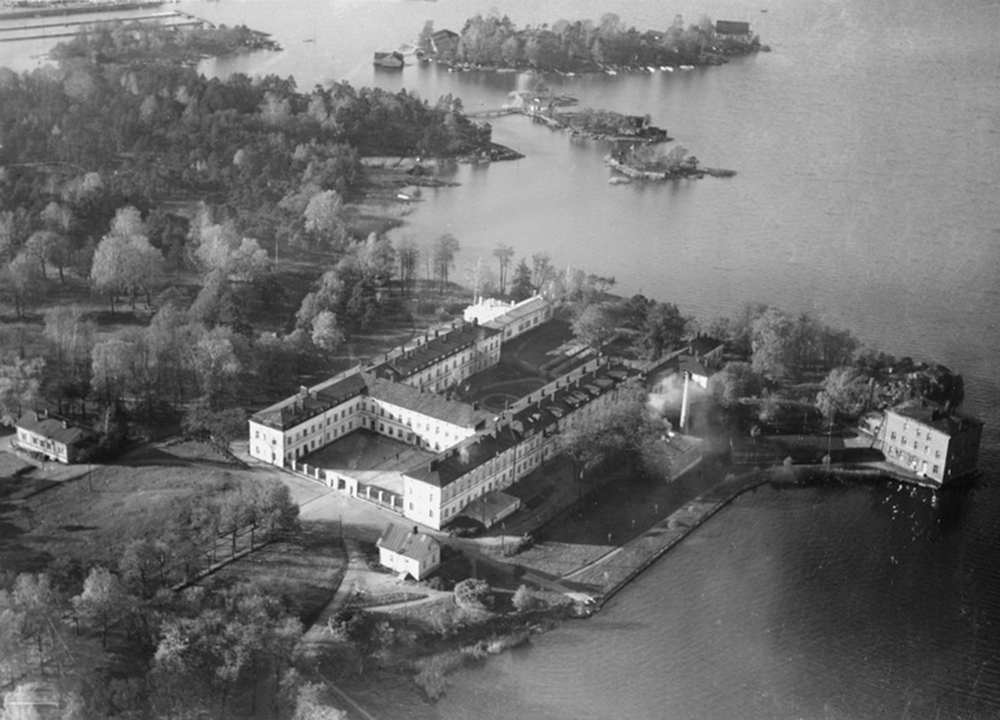 Lapinlahti mental hospital, Image from Helsinki City Museum: Photographer Roos R.