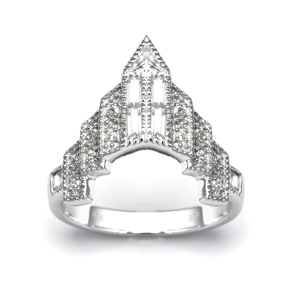 Chrysler Ring by V Jewellery, £125