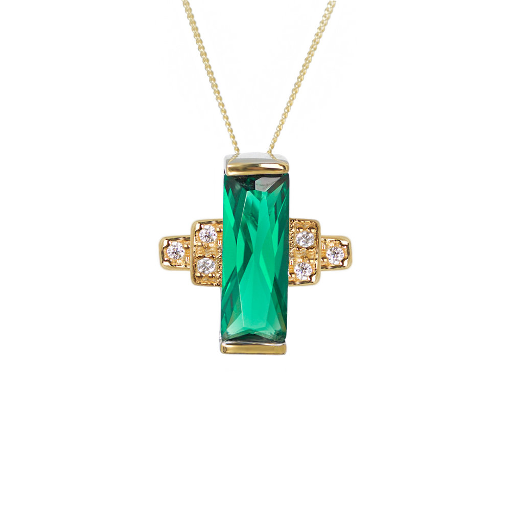 Audrey Pendant by V Jewellery, £75