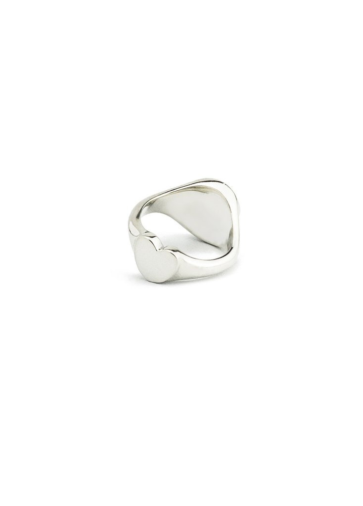 Secret Heart Signet Ring by Smith/Grey, custom from £245