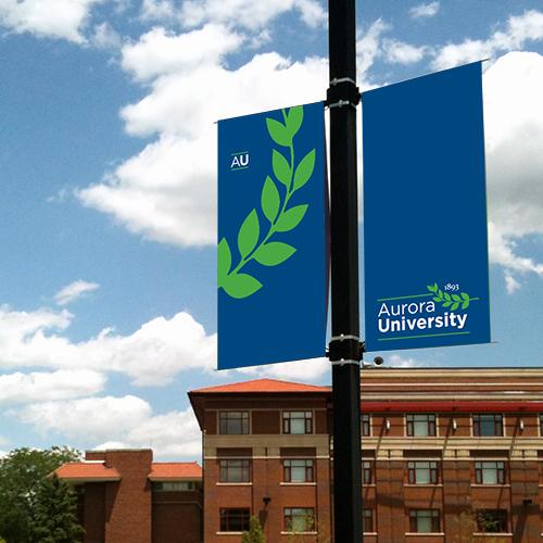 Aurora University Branding