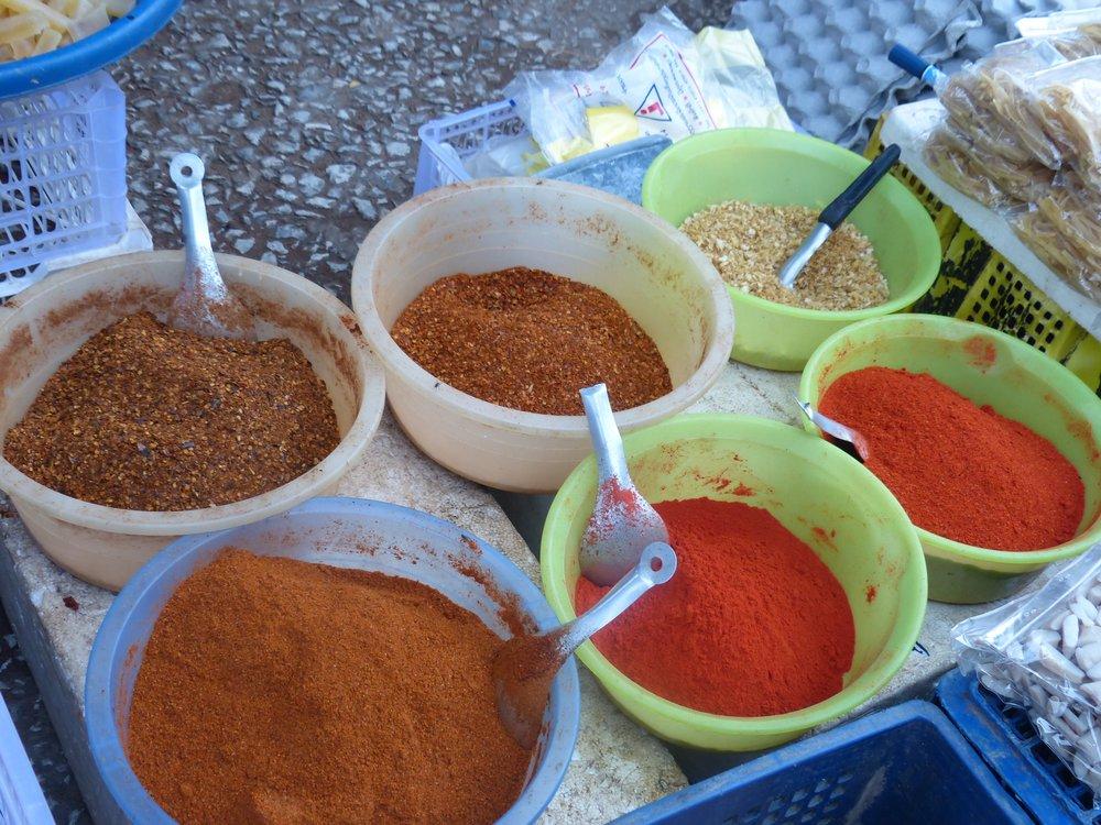 luang prabang market chili