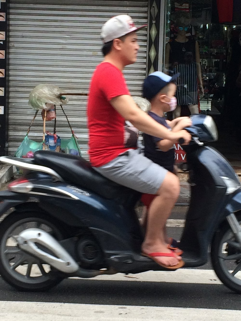 """Crazy things we saw on a scooter.2"""