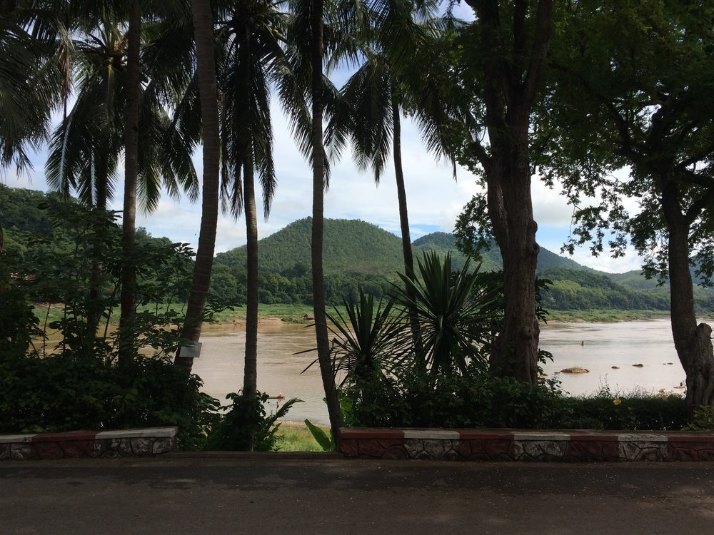 After bustling Hanoi there was low-key Luang Prabang