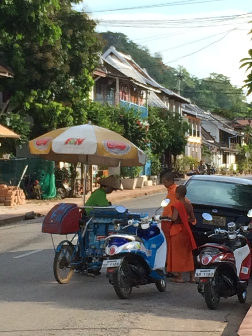 So monks can get ice cream, listen to ipods, and take selfies?