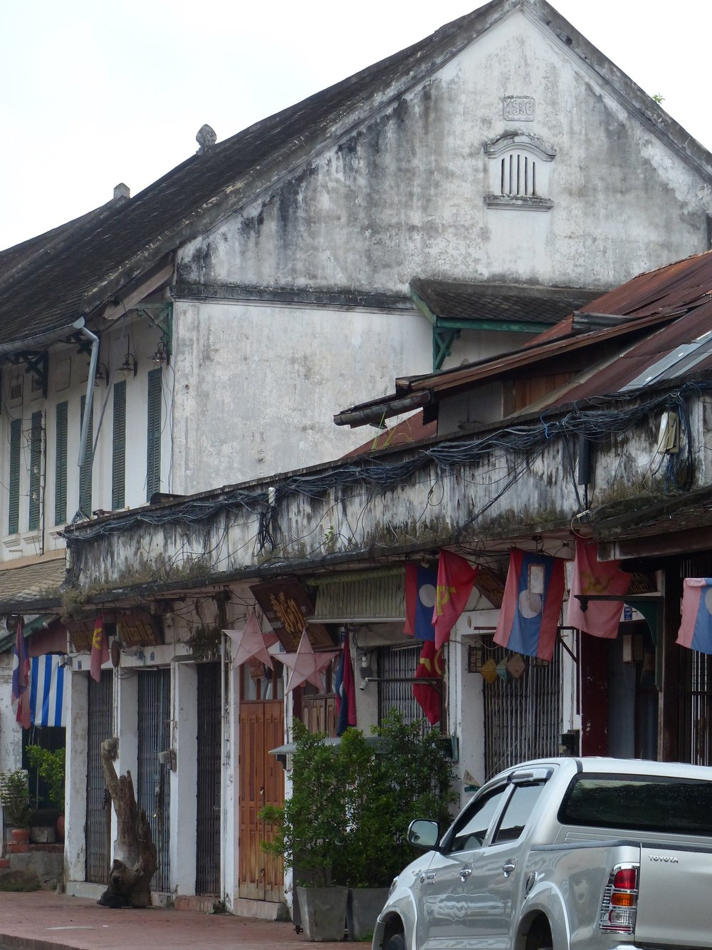 Wandering the streets of Luang Prabang