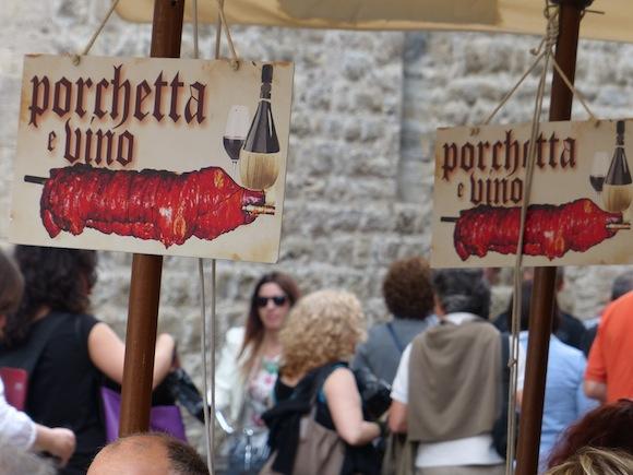 Gaite festival in Bevagna, Umbria