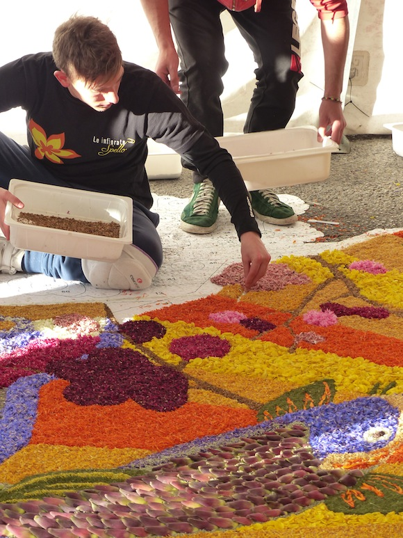 Infiorata in Spello, Umbria