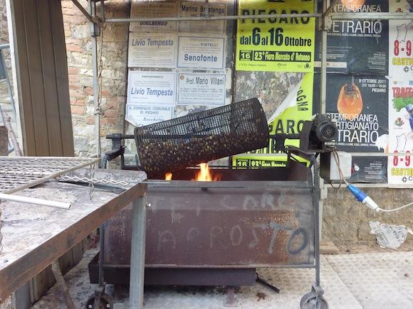 chestnut/castagne festival in Piegaro, Umbria