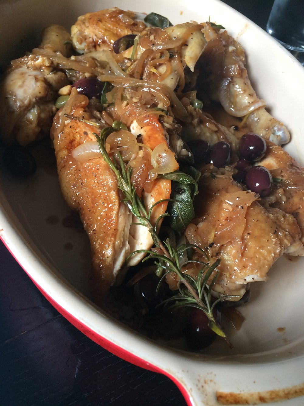 Umbrian Style Chicken alla Ciacciatora