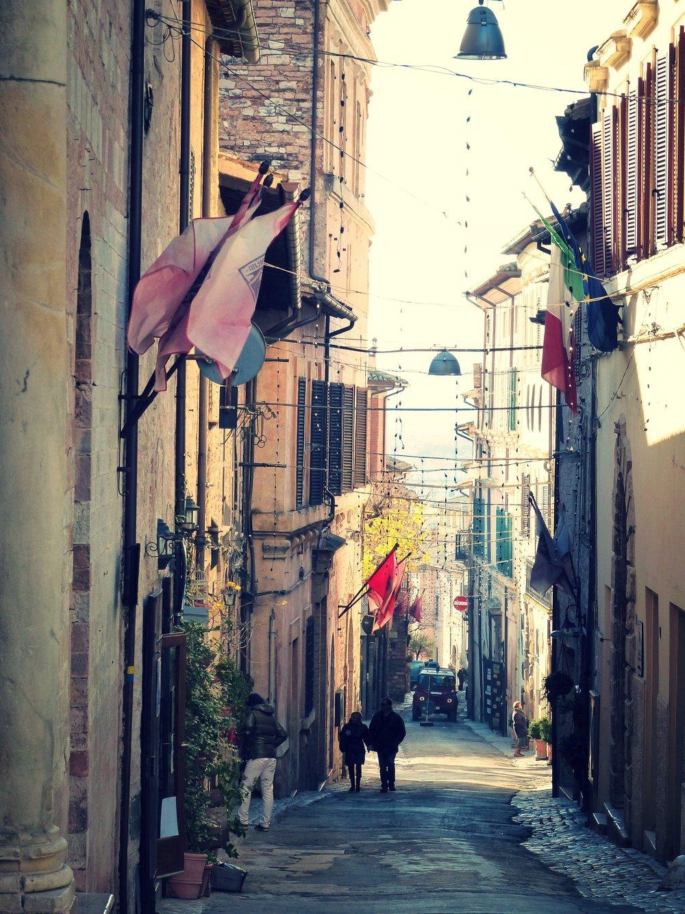 At L'Oro di Spello, Umbria
