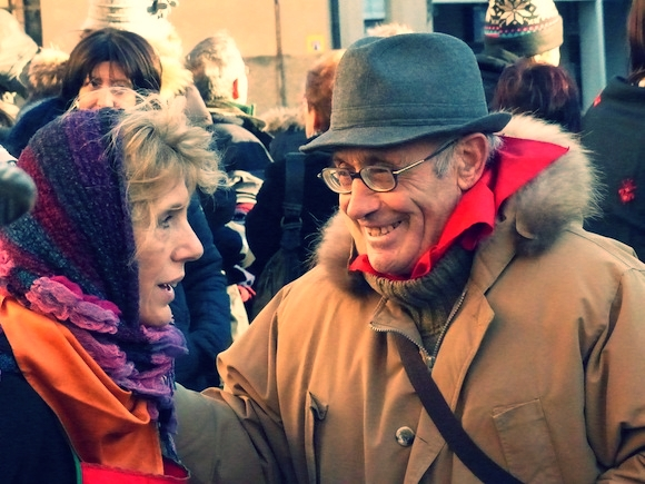 Couple at L'Oro di Spello, Umbria