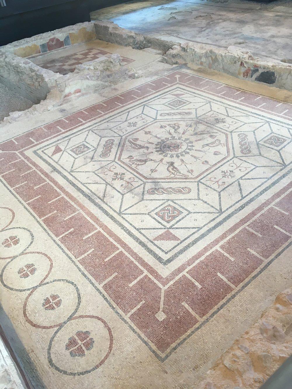 Villa dei Mosaici in Spello, Umbria